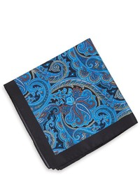 Hugo Boss Pocket Square Silk Print By Boss