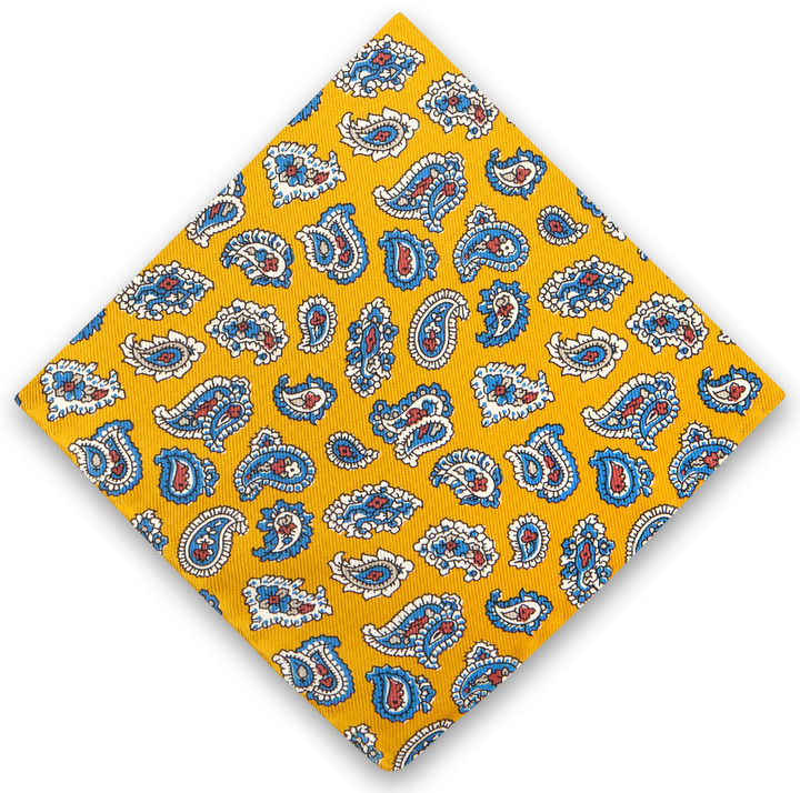 Thomas Pink Double Face Pocket Square
