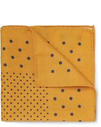 Alex mill polka dot wool pocket square medium 84351