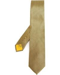 Brioni Dot Print Tie