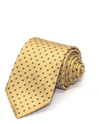 Saint Laurent Yves Yves Ysl Neck Tie Silk Dotted