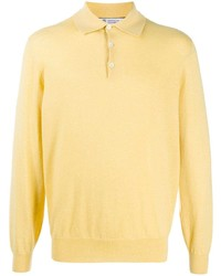 Brunello Cucinelli Long Sleeved Knitted Polo Shirt