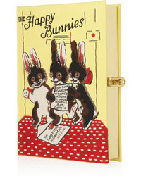 Olympia Le Tan The Happy Bunnies Embroidered Clutch