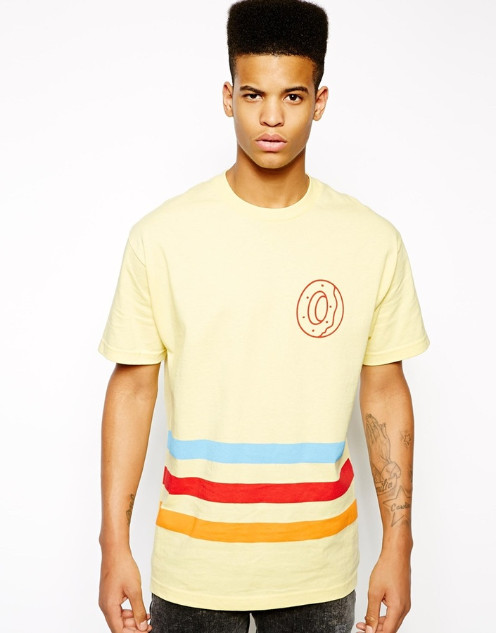 c13d6bd24923f5 ... Dickies Odd Future T Shirt With Ofwgkta Team Print Yellow