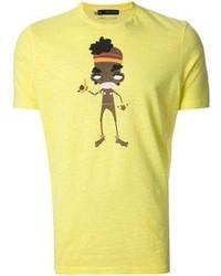 DSquared 2 Illustrative Print T Shirt