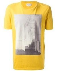 Maison Martin Margiela Corridor Print T Shirt