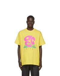 Nike Yellow Acg Logo T Shirt