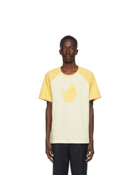Lanvin Yellow And Beige Jeanne T Shirt