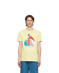 Lanvin Yellow Mother And Child T Shirt