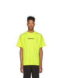 Vetements Yellow Postage T Shirt