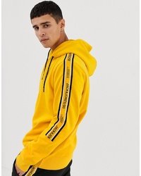 Jack & Jones Core Hoodie With Side Taping