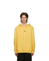 424 Yellow Logo Hoodie