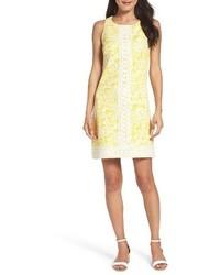 Petite print shift dress medium 3686499