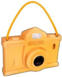 Moschino camera printed leather pouch medium 1198162