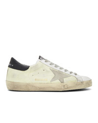 Golden Goose Yellow And White Sneakers