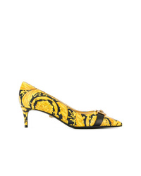 Versace Medusa Appliqu Printed Pumps