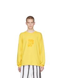 Converse Yellow Aap Nast Edition Long Sleeve T Shirt