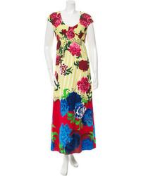 Marc Jacobs Floral Print Maxi Dress