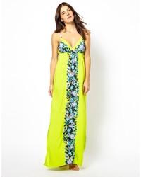 Seafolly Bella Rose Mirror Print Maxi Dress
