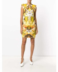 Alexander McQueen Vintage Geometric Print Mini Dress