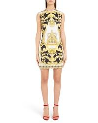 Versace Casa Print Minidress