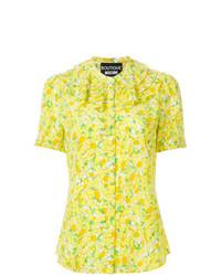 Boutique Moschino Lemon Print Blouse