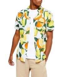 Topman Lemon Orange Classic Shirt