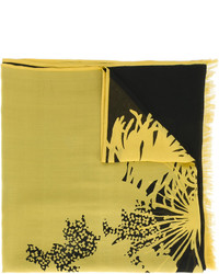 Dries Van Noten Abstract Print Scarf