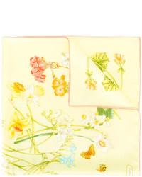 Salvatore Ferragamo Floral Print Scarf
