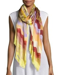 Missoni Silk Striped Scarf