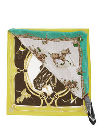 Doublet Yellow And Multicolor Magical Changed Scarf