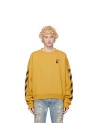 Off-White Yellow Agreet Sweatshirt