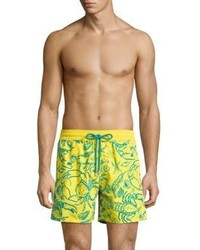 Vilebrequin Sea Life Print Swim Shorts