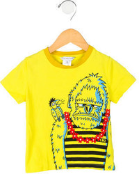 Little Marc Jacobs Boys Screen Print T Shirt