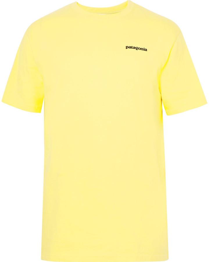 ... Patagonia P 6 Printed Organic Cotton Jersey T Shirt ...