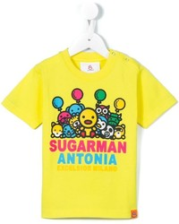 Sugarman Kids Animal Parade Print T Shirt