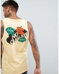 ASOS DESIGN Vest With No Qualms Floral Print