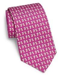 6ba3768c94e8 Salvatore Ferragamo Dog Cat Print Silk Tie, $190 | Saks Fifth Avenue ...