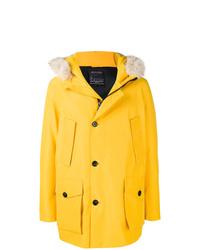 Woolrich Fur Hood Padded Coat