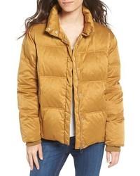 Yellow puffer jacket original 4181665