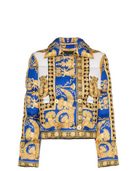 Versace Double Breasted Padded Jacket