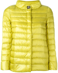 Herno Button Up Puffer Jacket