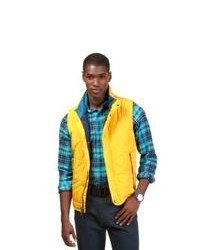 Yellow Quilted Gilet