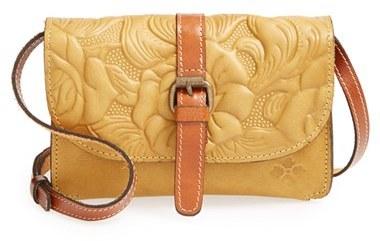 1547cf8c0 Patricia Nash Winter Rose Torri Italian Leather Crossbody Bag, $99 ...