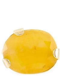Wouters & Hendrix Yellow Jade Ring
