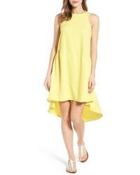 Ruffled highlow shift dress medium 5255432