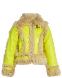 MARQUES ALMEIDA Marquesalmeida Cropped Shearling Jacket