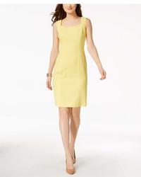 6a7cae3b6bc Kasper Textured Knit Sheath Dress Regular Petite