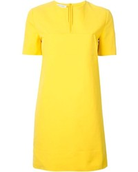 Yellow shift dress original 10073256