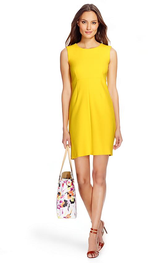 Diane Von Furstenberg Dvf Carrie Ceramic A Line Dress